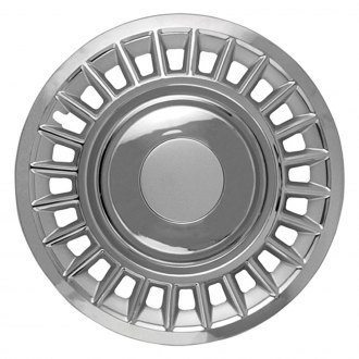 "OxGord® - 16"" 24 Holes Chrome Wheel Covers"