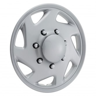 "OxGord® - 15"" Silver Wheel Covers"