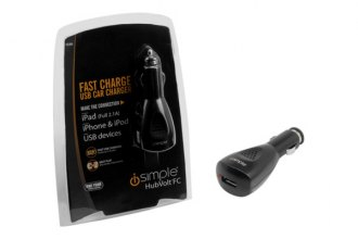 PAC® - iSimple Hubvolt Fast-Charging 3 Amp USB Car Charger