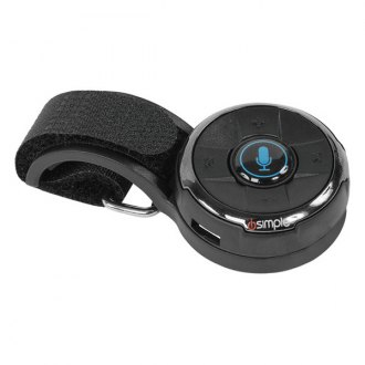 iSimple® - Bluetooth Remote Control with Steering Wheel and Dash Mount