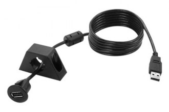 PAC® - 6Ft USB Extension Cable with Dash Mount Bracket