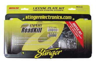 PAC® - Roadkill Sound Damping Expert License Plate Kit
