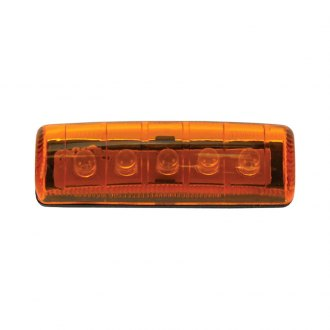 "Pacer Performance® - Mini Single Row 2""x0.5"" Amber LED Side Marker Light"