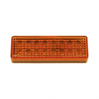 "Pacer Performance® - Dual Row 4""x1"" Amber LED Side Marker Light"