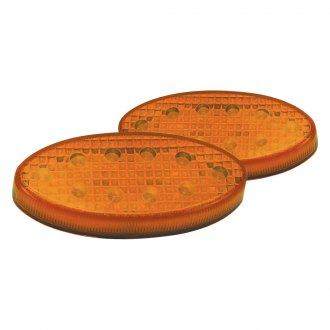 "Pacer Performance® - 3""x1"" Oval Amber LED Side Marker Lights"