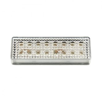 "Pacer Performance® - Dual Row 4""x1"" Rectangular LED Side Marker Light"