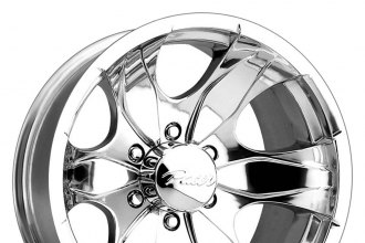 "PACER® - 187P WARRIOR Polished (17"" x 8"", +10 Offset, 5x135 Bolt Pattern, 87mm Hub)"
