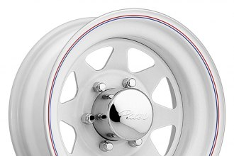 "PACER® - 310W White (14"" x 6"", -3 Offset, 6x139.7 Bolt Pattern, 108.71mm Hub)"