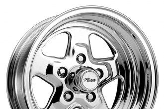 "PACER® - 521P DRAGSTAR Polished (15"" x 8"", 0 Offset, 5x114.3 Bolt Pattern, 83.06mm Hub)"