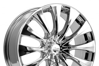 "PACER® - 776C SILHOUETTE Chrome (20"" x 8.5"", +40 Offset, 5x114.3 Bolt Pattern, 73mm Hub)"