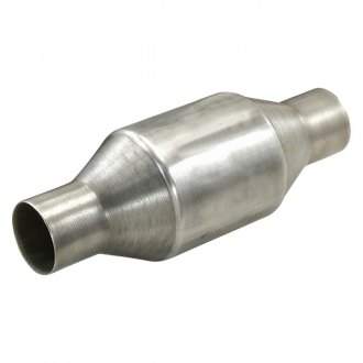 "PaceSetter® - Universal Fit Bullet Style Round Catalytic Converter (2.5"" Inlet Diameter, 2.5"" Outlet Diameter)"