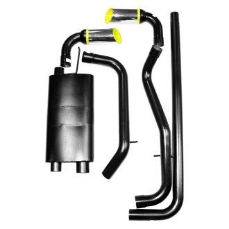 PaceSetter® - Monza™ Aluminized Steel Cat-Back Exhaust System with Split Rear Exit