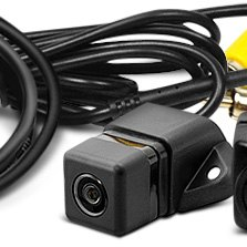 Pyle® - Front and Rear View Back Up CMD Camera