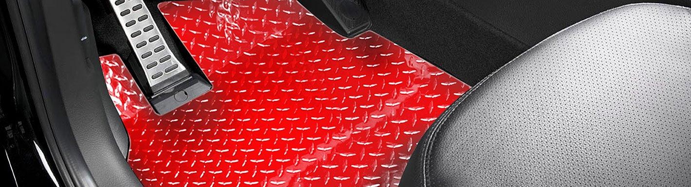 Ford Mustang Aluminum Floor Mats Diamond Plate Carid Com