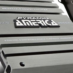 Pyramid America® - Bridgeable Mosfet Amplifier