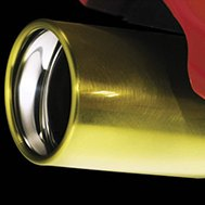 Exhaust Tip Painted with Dupli-Color Paint