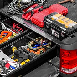 Truck Bed Organizers | Drawer Systems, Cargo Bars, Pockets ...