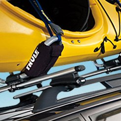 Thule Black Canoe Carriers Kayak Racks