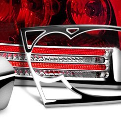 Chrome Tail Light Bezel