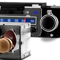 Classic Car Stereo With Bluetooth