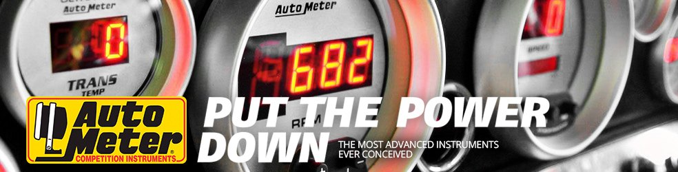 Auto Meter Custom Gauges