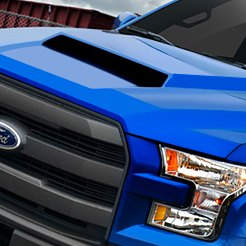 Ford F-150 Custom Hoods