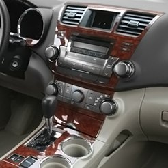 Real Wood Dash Kit