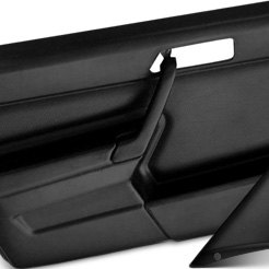 with panels door custom doors firebird pair p set inserts htm black int colored molded abs