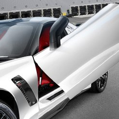 Vertical Doors Chevy Corvette Butterfly Doors