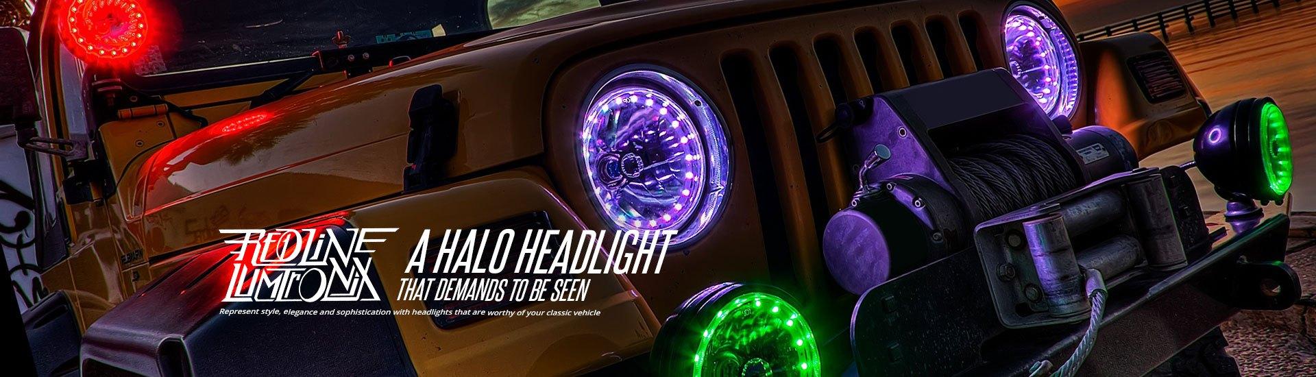 Automotive LED Lights   Bars, Strips, Halos, Bulbs, Custom Light Kits