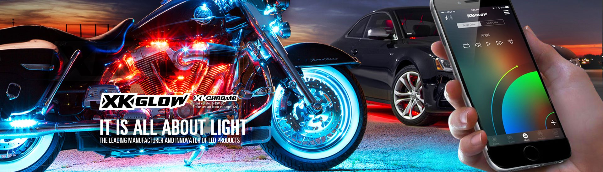 Automotive Led Lights Bars Strips Halos Bulbs Custom Light Kits Instead Of Using A Switch To The Parking Lamps Or Others As Shown 4 8