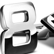 Chrome Emblems, Letters & Numbers