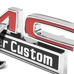 Chrome GMC Emblems