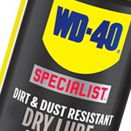 Dirt and Dust Resistant Dry Lube