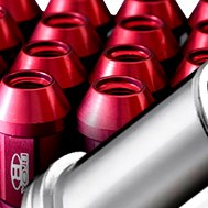Blox Racing® Street Series Forged Red Lug Nut Set