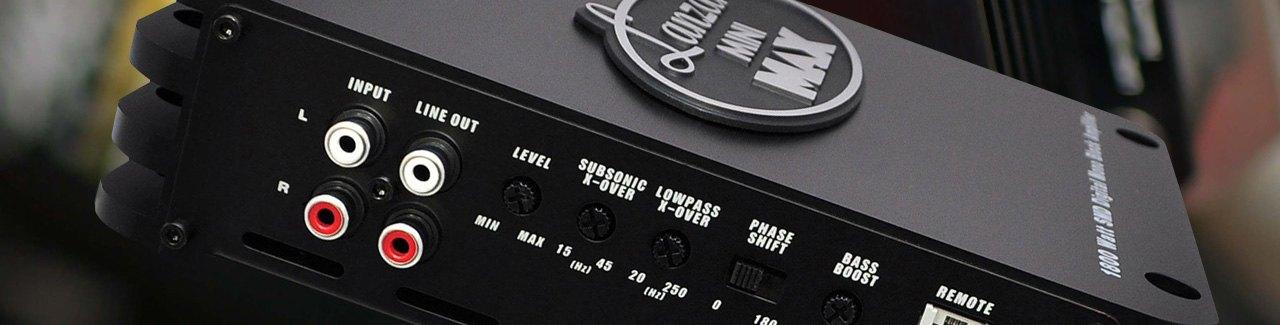 Mini Car Amps Compact Car Audio Amplifiers Carid Com