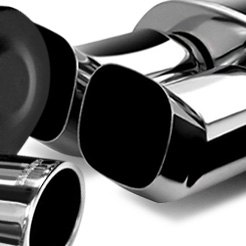 Performance Exhaust Muffler with DTM Tip