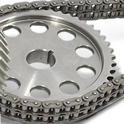 Double Roller Timing Chain Gear Set