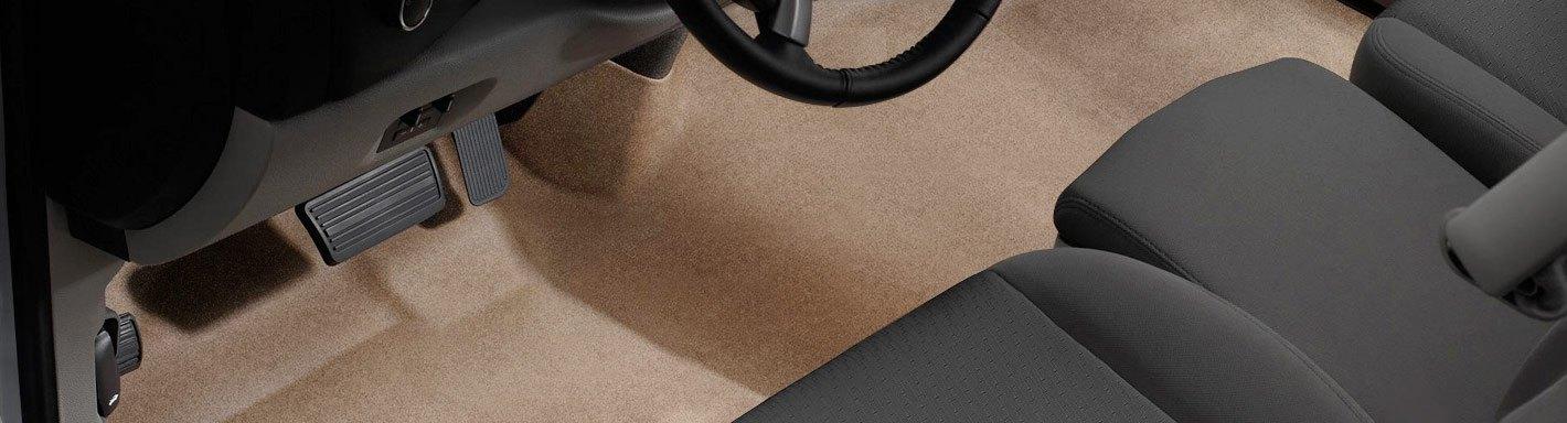 Black Coverking Custom Fit Front Floor Mats for Select Suzuki Sidekick Models Nylon Carpet