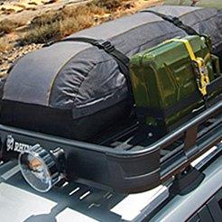 Rhino-Rack Black Roof Cargo Basket