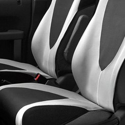Black/Gray Cloth Seat Covers