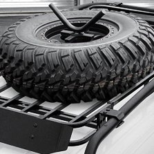 Roof Mounted Tire Carriers T