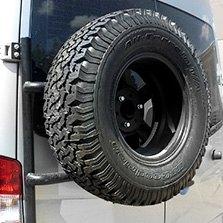 Van Spare Tire Carriers Rear Door Mount Carid Com