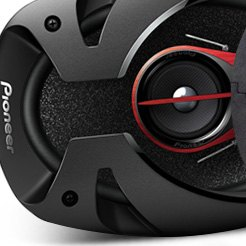 Pioneer® - 3-Way Domannaka Series Coaxial Speakers