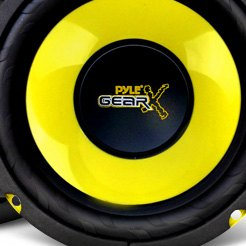 Pyle® - Poly Injection Cone Component Speakers