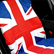 Cloth Union Jack Design Towel Seat Cover