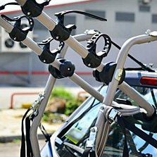 Yakima® - 3 Bikes Gray Trunk Mount Bike Rack