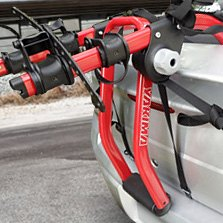 Yakima® - 2 Bikes Red Trunk Mount Bike Rack