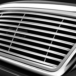 APG® - Polished Tubular Custom Grille on Ford F-150