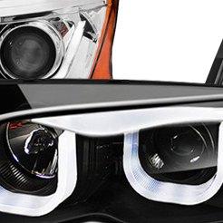 Custom DRL Bar Headlights | Projector, LED, Smoke, Chrome